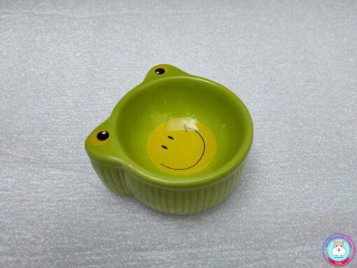 Bát ăn sứ hình ếch