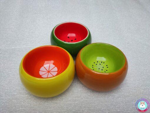 bát ăn sứ hình hoa quả