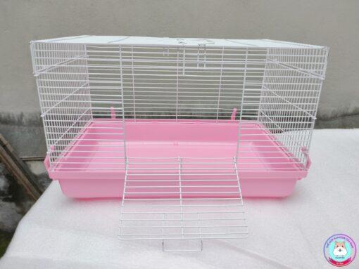 Lồng Hamster cỡ đại màu hồng