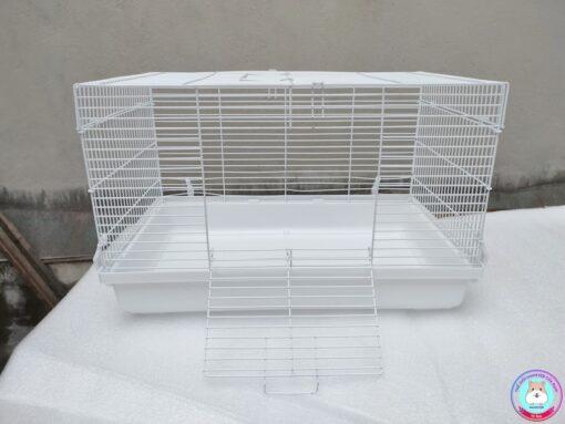 Lồng Hamster cỡ đại màu trắng