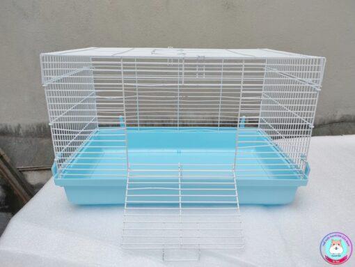 Lồng Hamster cỡ đại màu xanh