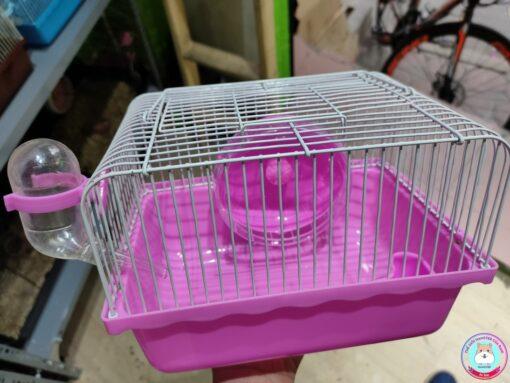 Lồng Hamster nhỏ màu hồng