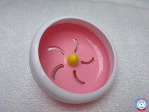 Wheel Silent Kelly màu hồng trắng