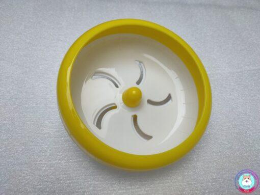 Wheel Silent Kelly màu trắng vàng